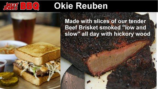 Jazzy John's : Okie Reuben Sandwich