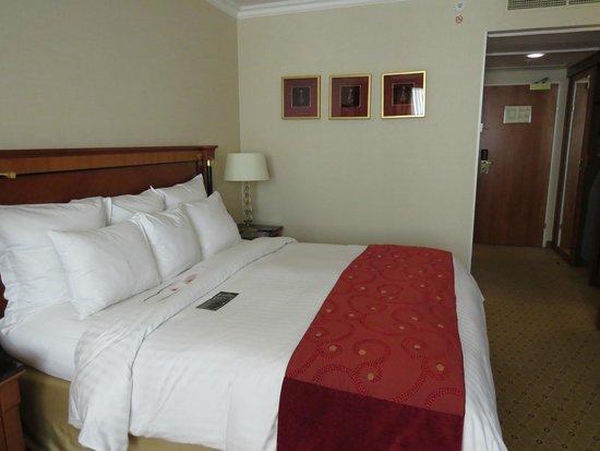 Prague Marriott Hotel: King room at Prague Marriott