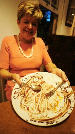 Cotto: YES, she ate the whole thing. Great Fun.