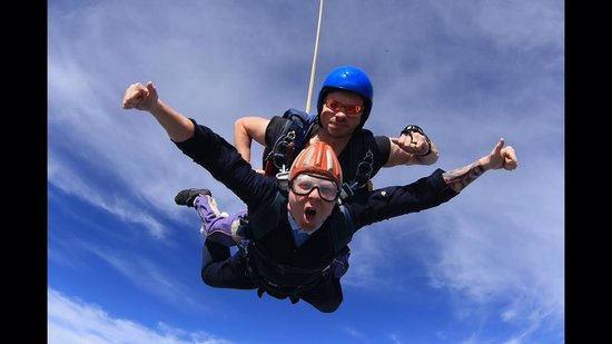 Peterlee Parachute Centre: Loved every min of it