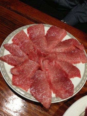 Meson Las Lanzas: Ventreska de atun rojo