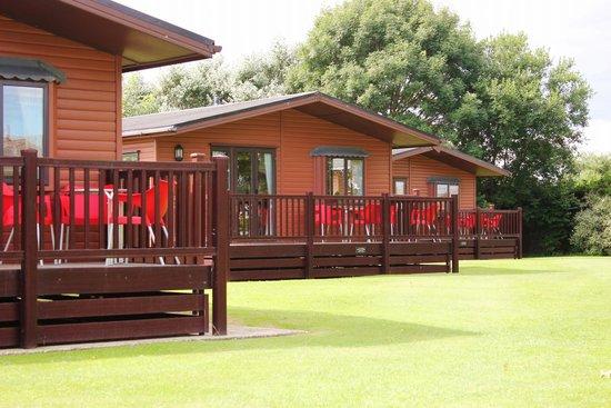 Trusthorpe, UK: Retreat Log Cabins