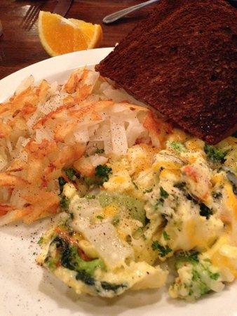 Buffalo Cafe & Nightly Grill: Veggi eggs
