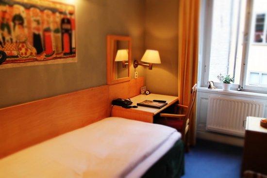 Lady Hamilton Hotel : レディハミルトンの室内(シングル)です