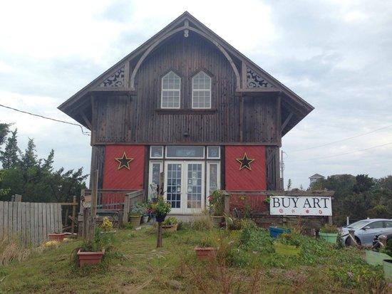 Pea Island Art Gallery, Salvo, NC