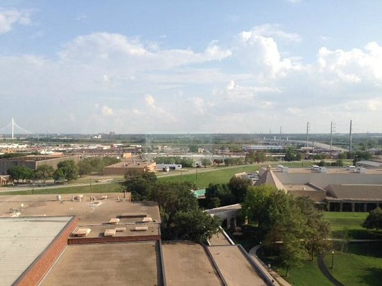Hilton Anatole: View from the room