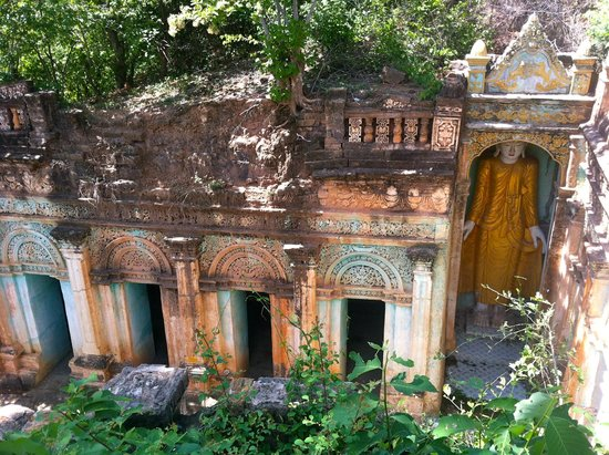 Po Win Daung Caves : one set of caves