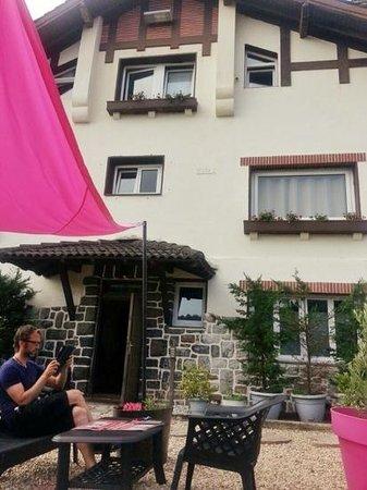 Hotel Donosti: La terraza