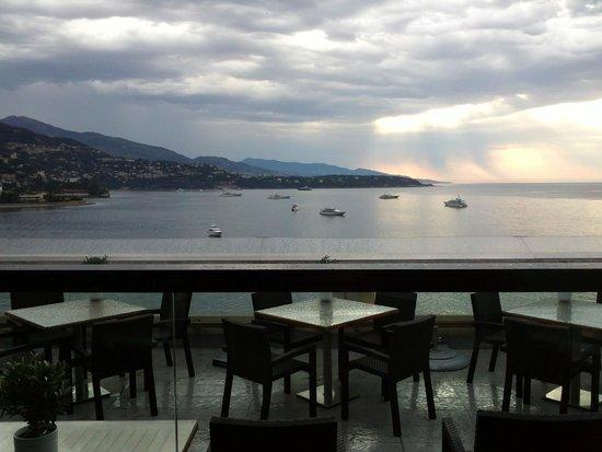 Fairmont Monte Carlo: Terrasse du restaurant