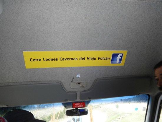 Cavernas del Viejo Volcan Parque Cerro Leones: Comienzo del Recorrido