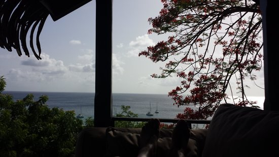 Firefly Mustique Hotel : view
