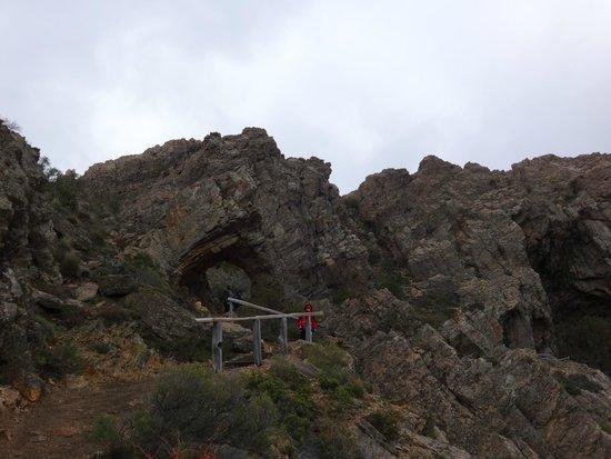 Cavernas del Viejo Volcan Parque Cerro Leones: Recorrido