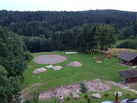 Wildparkhotel Waldlust : Sicht vom Balkon