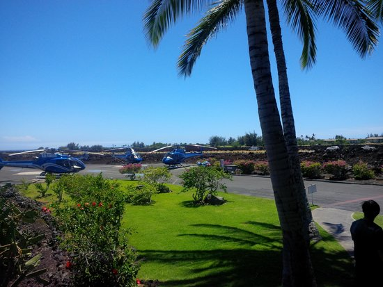 Blue Hawaiian Helicopters - Waikoloa: Ready for take-off