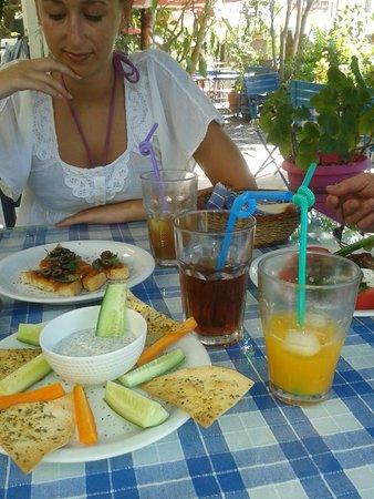 Dalyan Iz Cafe: Bruschetta