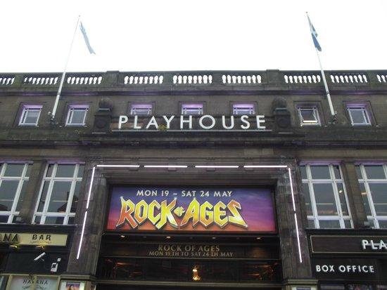 Edinburgh Playhouse : Rock Of Ages At Playhouse 2014