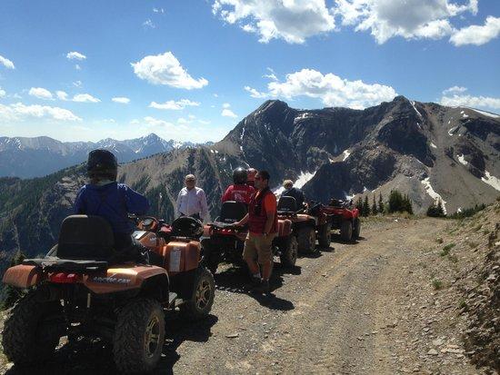 Panorama Vacation Retreat at Horsethief Lodge: ATV's near Panorama Mountain Resort