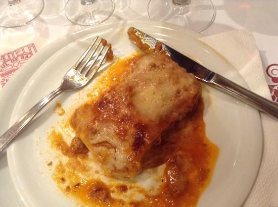 Ristorante Pizzeria Pasquino : лазанья
