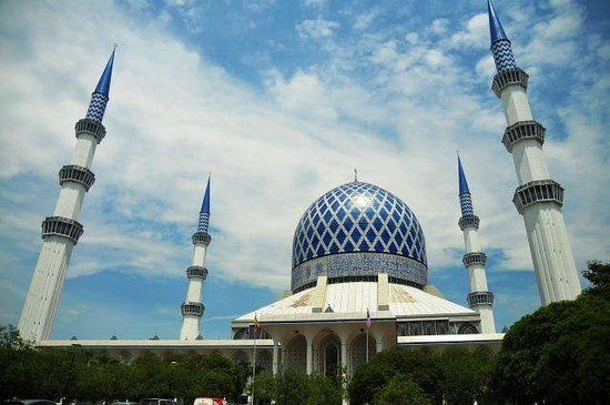 Abdul-Aziz-Shah-Moschee: ブルーモスク