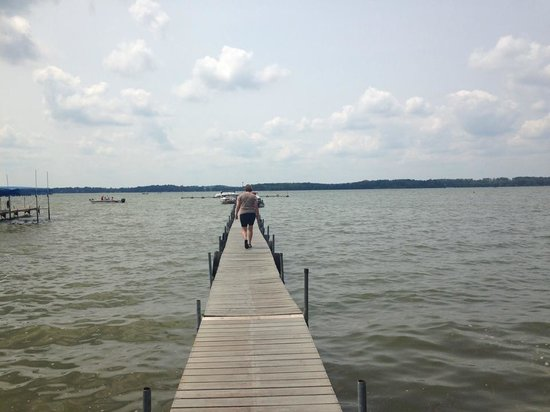 McFarland, WI: the long dock