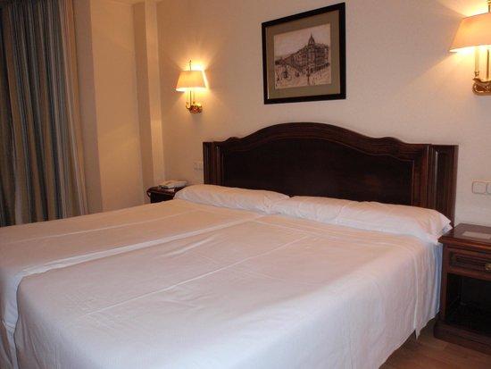 Hotel Abando: Dormitorio doble