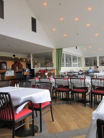Hotell Havsbaden: The dining area