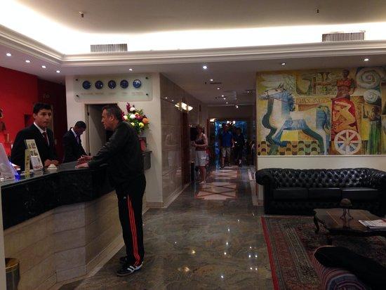 Augusto's Copacabana Hotel: Recepção do hotel