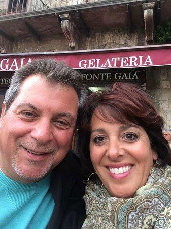 Hotel Athena: great Gelato