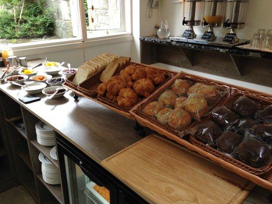Cairn Hotel Edinburgh : colazione