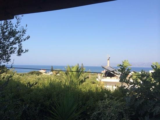 View Villas : View from Villa Roula bedroom window