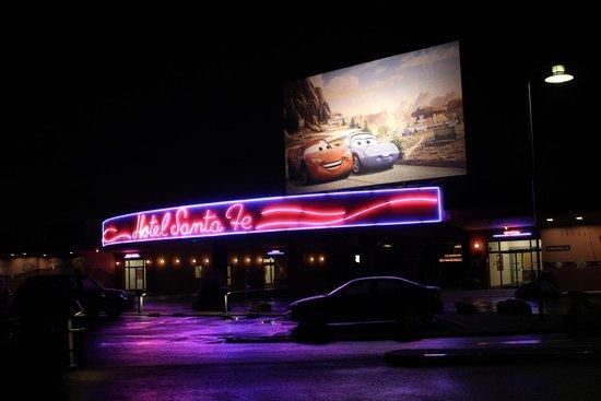 Disney's Hotel Santa Fe: entrada