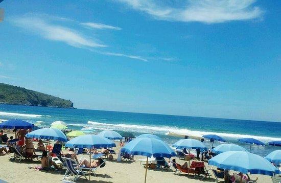 Hotel Ulisse : La spiaggia convenzionata dell'hotel