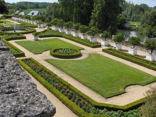 Château d'Ussé : le jardin
