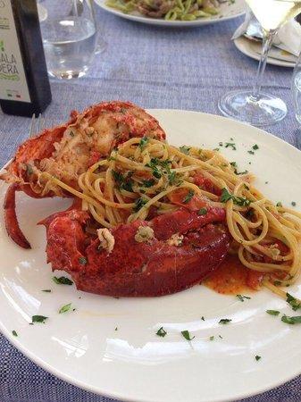 Ristorante Il Geranio : Pasta com Lagosta