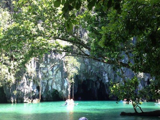 Puerto Princesa Underground River: River entrance
