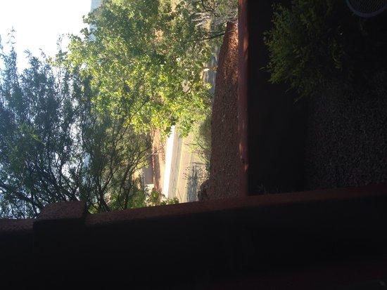 Las Posadas of Sedona: Nice road! Right outside the bedroom window.