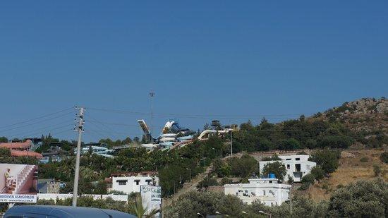 Slides - Bild från Aquapark Dedeman Bodrum, Ortakent ...