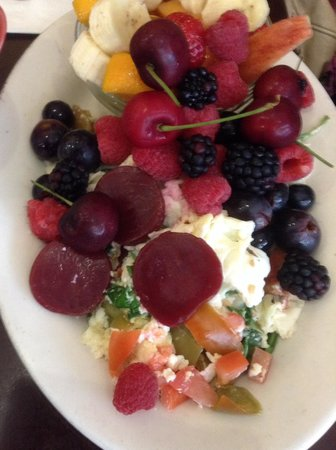 Hollywood Cafe: Healthy plate !