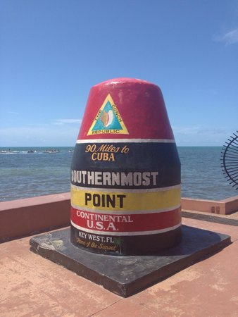 Southernmost Point: Yes, this is what it looks like!