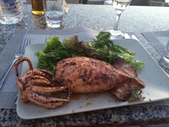 Ochre Restaurant: Lula recheada