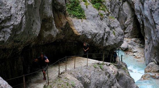 Zugspitze : Höllentalklamm