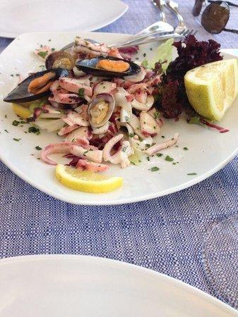 Ristorante Il Geranio: Salada de frutos do mar