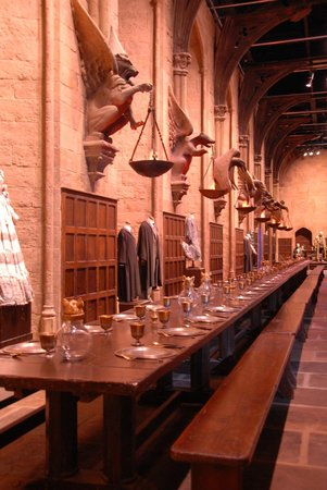 Warner Bros. Studio Tour London - The Making of Harry Potter: The Great Hall