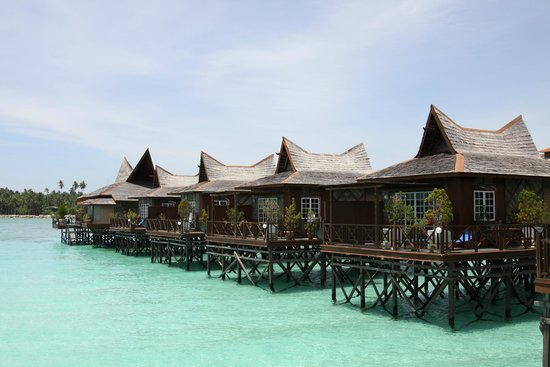 Mabul Water Bungalows: Water bungalows