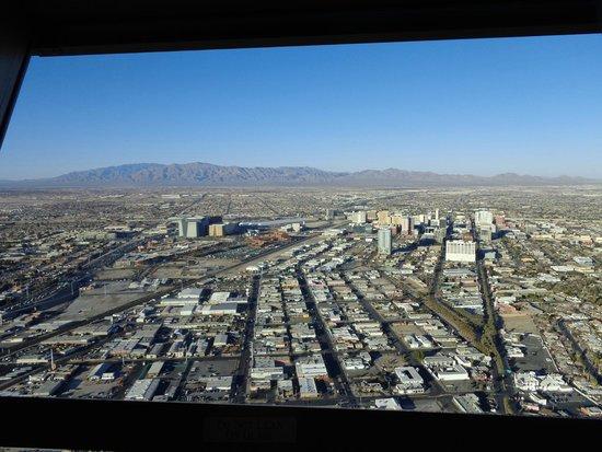 Stratosphere Tower: Vista de Las Vegas