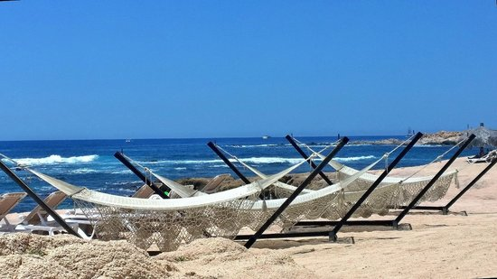 Grand Fiesta Americana Los Cabos All Inclusive Golf & Spa: View from the beach