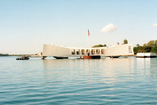 The USS Arizona Memorial