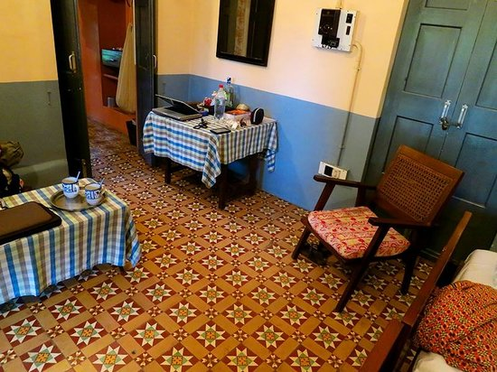 Mrs. Bhandari's Guesthouse : Zimmer im Erdgeschoss