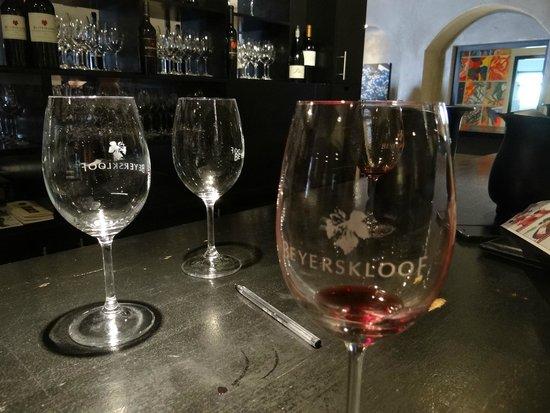 Beyerskloof Tasting Room: Degustação