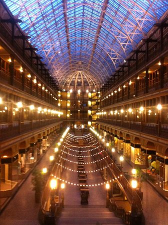 Hyatt Regency Cleveland at The Arcade: Arcade during a fire alarm